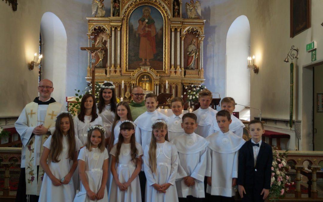 I rocznica Komunii Świętej